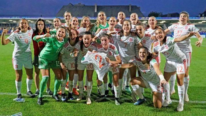 Enhorabuena a nuestra selección femenina de fútbol sub-...