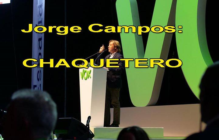 ¡ VERGÜENZA DE ESPAÑA ! Este personaje, Jorge Campos, e...