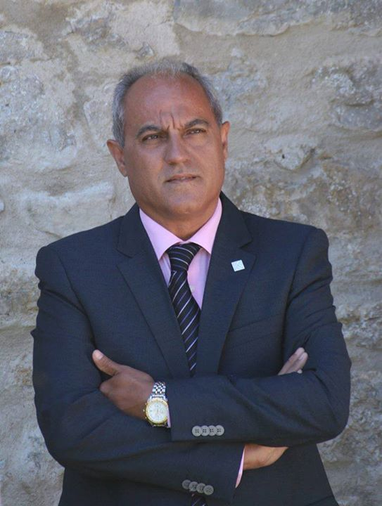 El Presidente del partido LLibertat Llucmajor y candida...