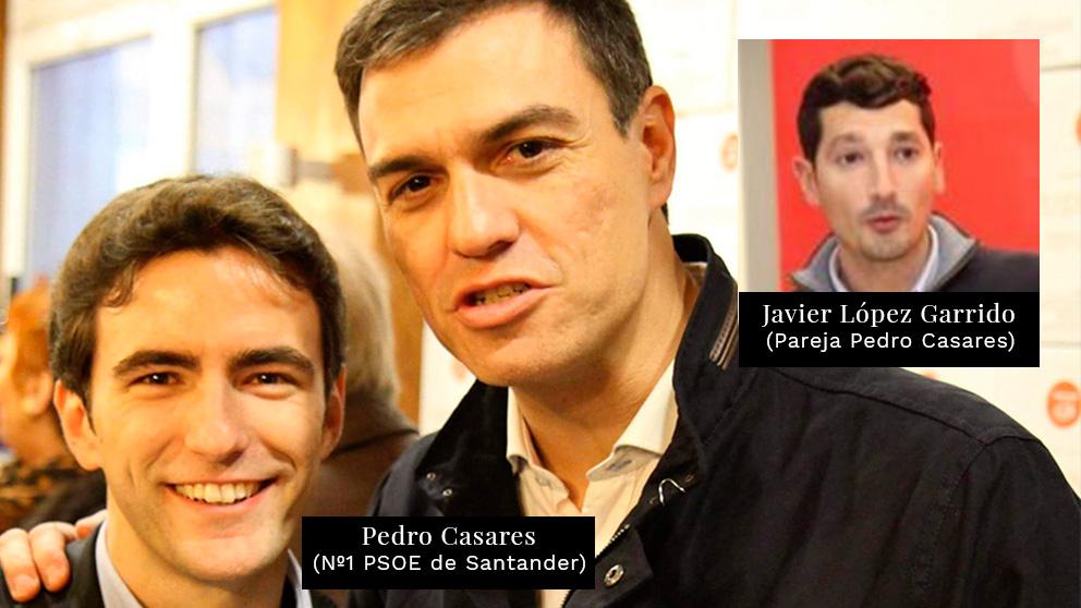 Pedro Casares, contrató a su pareja, el también sociali...